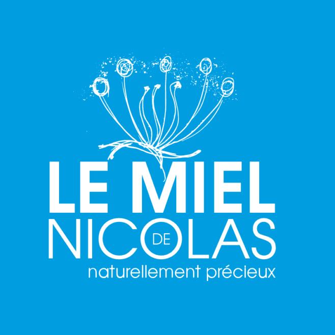 identité visuel du Miel de Nicolas, magasin à Lyon, apiculteur