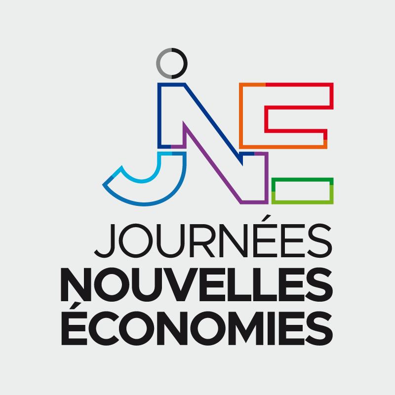 logotype nouvelle economie, logo couleurs